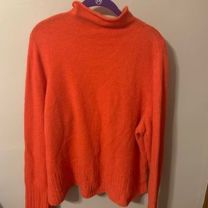 Madewell plus mock turtleneck sweater